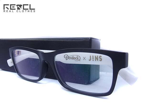 実際に弊社で買取させて頂いたDevilock×JiNS WEB限定コラボフレーム 眼鏡 MRF-14A-800A