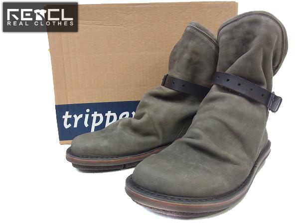 TRIPPEN/トリッペン Bomb espresso レザーショーブーツ/41