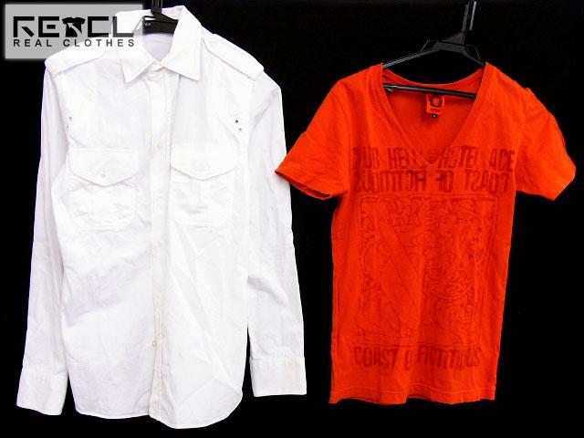 CHARMCULT/チャームカルト 半袖Tシャツ/長袖シャツ O/S 2点