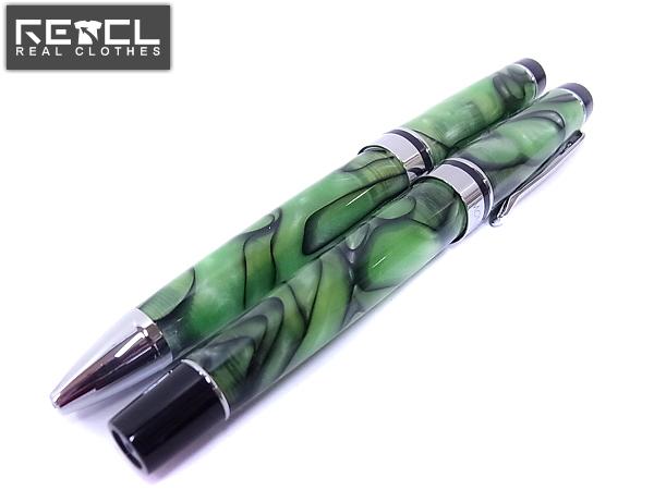 実際に弊社で買取させて頂いたモンテベルデ プリマコレクション 万年筆/ボールペン 緑 2点SET