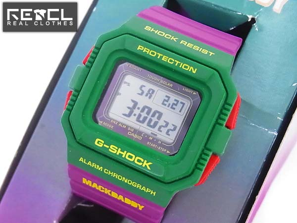 G-SHOCK マックダディコラボモデル タフソーラー/G-5500MD-3JR