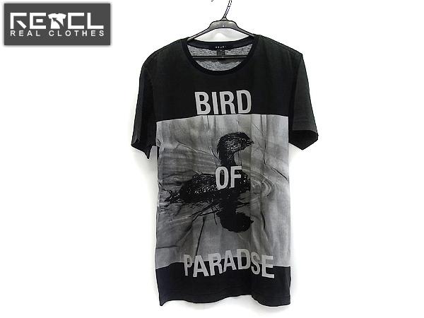ksubi/スビ バード転写半袖Tシャツ クルーネック ブラック XS