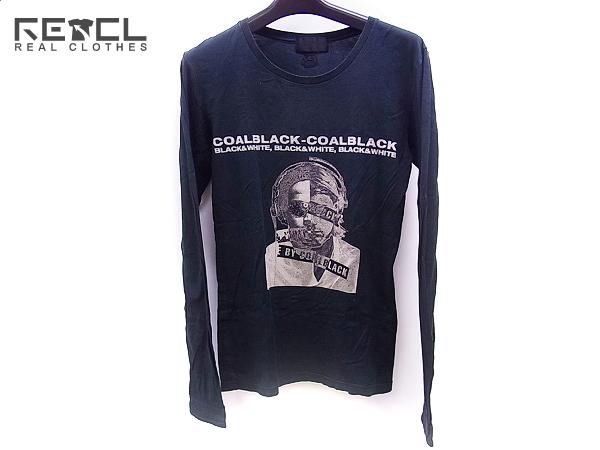 実際に弊社で買取させて頂いたCOALBLACK/コールブラック 長袖/ロングプリントTシャツ 黒/S