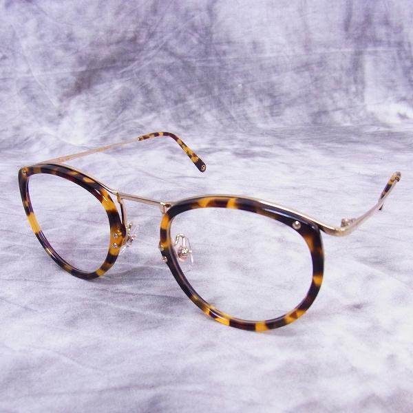 実際に弊社で買取させて頂いたChristian Roth/クリスチャンロス 日本製 眼鏡フレーム デミ柄 CR F07 C-3