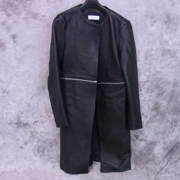 実際に弊社で買取させて頂いたCHRISTIANDADA/クリスチャンダダ 14aw minimum leather coat/牛革/44