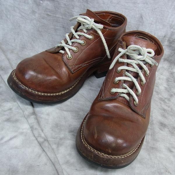 実際に弊社で買取させて頂いたzerrows/ゼローズ 本革 ローカットブーツ Standard Boots/スタンダードブーツ size8.5