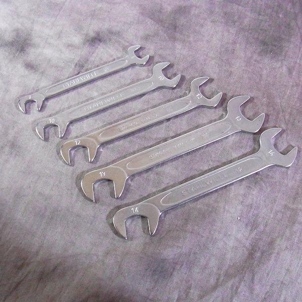 STAHLWILLE/スタビレー ELECTRIC/エレクトリック 12 スパナ 8~14mm 5点