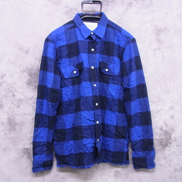 ACANTHUS/アカンサス 2015AW インナーキルティングシャツジャケット JK1511/S