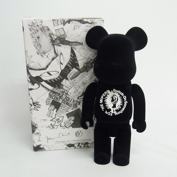 BE@RBRICK×Advantage cycle×suicommi underground ベアブリック 400%