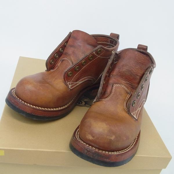 実際に弊社で買取させて頂いたzerrows/ゼローズ レザー Standard Boots/スタンダードブーツ 2013/8.5