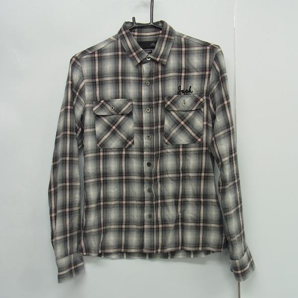 実際に弊社で買取させて頂いたMAGINE/マージン ネルシャツ チェック柄 グレー系 サイズ44