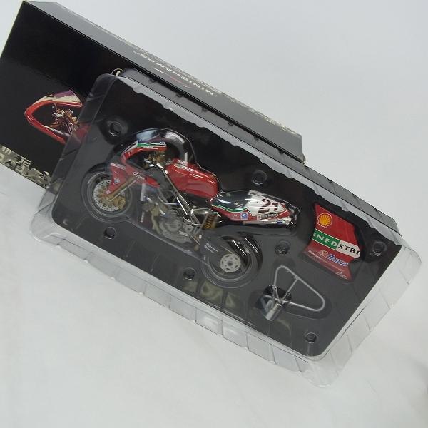 MINICHAMPS/ミニチャンプス 1/12 DUCATI 996R SUPER BIKE 2001 TROY BAYLISS/ドゥカティ 996R/122 011221
