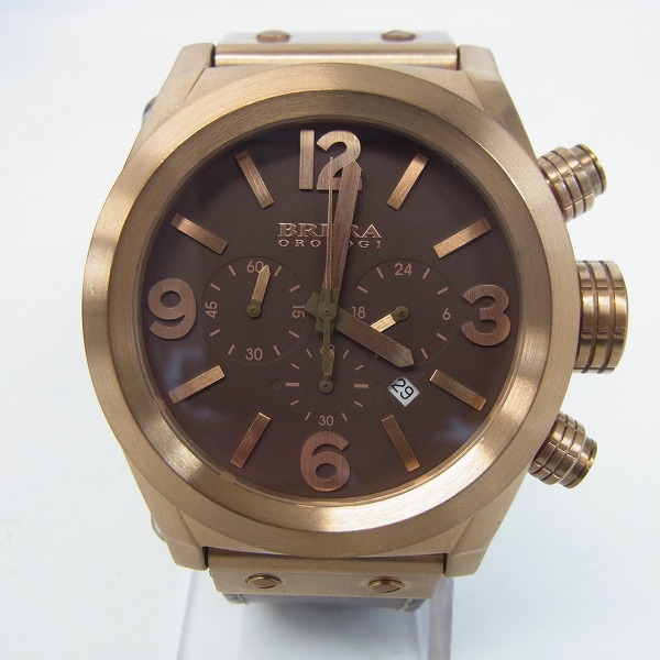 BRERA OROLOGI/ブレラオロロジ クロノグラフ メンズウォッチ/腕時計 AD10