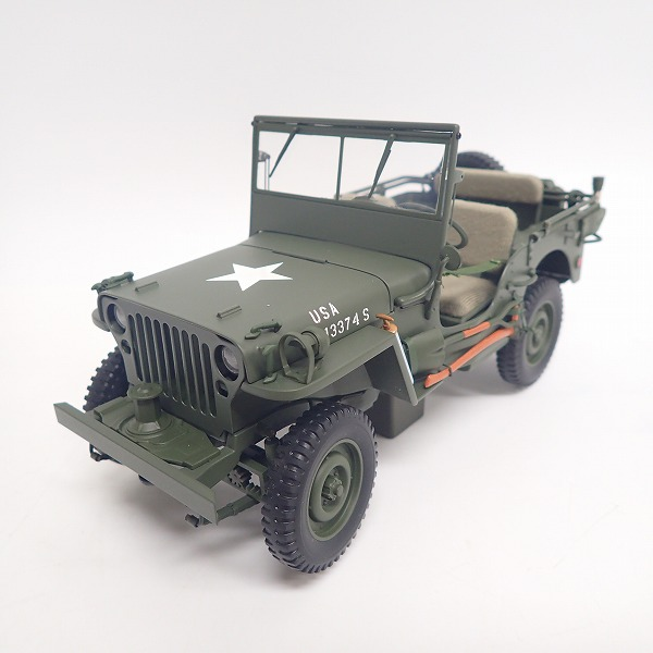 AUTOart/オートアート Signature 1/18 WILLYS JEEP WITH TRAILER 74016