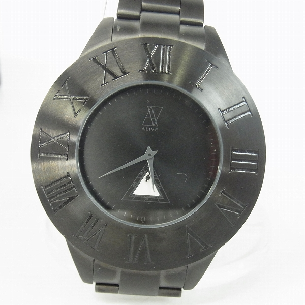 実際に弊社で買取させて頂いたALIVE ATHLETICS/アライブアスレティ 腕時計 クオーツ hhat578 ブラック