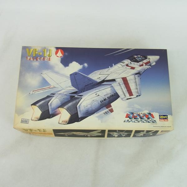 【未組立】Hasegawa/ハセガワ 1/72 マクロス VF-1J VALKYRIE/VF-1Jバルキリー TV版