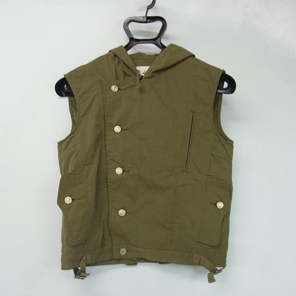 HEAD PORTER PLUS/ヘッドポータープラス ノースリーブジャケット
