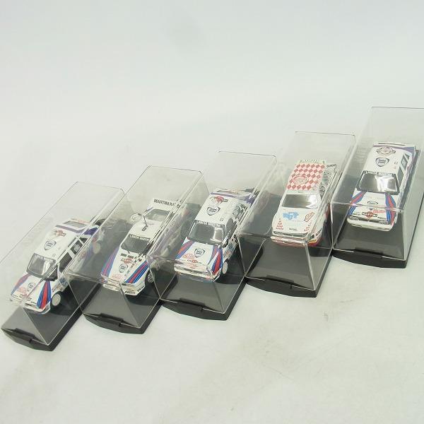実際に弊社で買取させて頂いたVITESSE/ビテス 1/43 モデルカー LANCIA/ランチア ラリーカー 5点セット