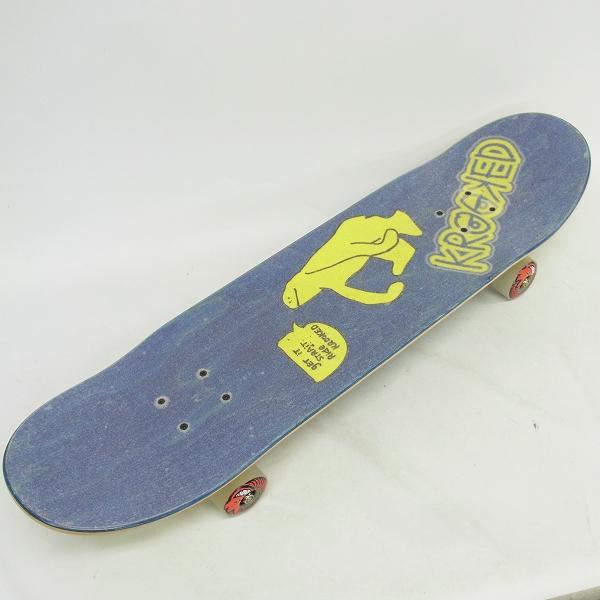 実際に弊社で買取させて頂いたkrooked/クルックド VENTURE スケートボード コンプリートデッキ