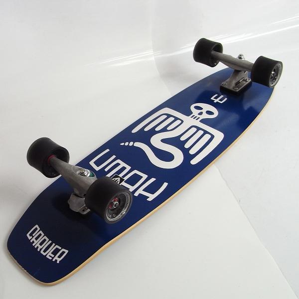 carver/カーバー POINT BREAK/ポイントブレーク サーフスケートボード 33.75インチ/CX4 コンプリート