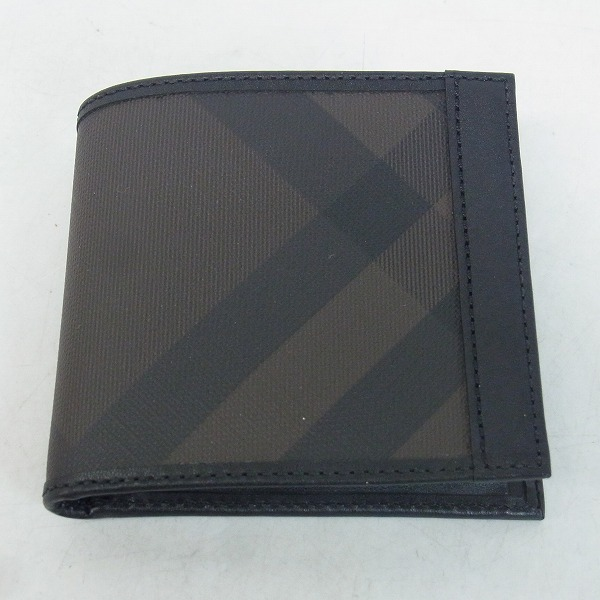 Burberry PRORSUM/バーバリープローサム ノバチェック レザー 二つ折り財布