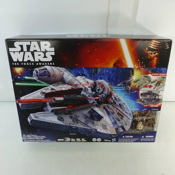 Hasbro/ハズブロ STAR WARS ミレニアム・ファルコン フォースの覚醒 ライト・サウンドギミック搭載 SW ビークル