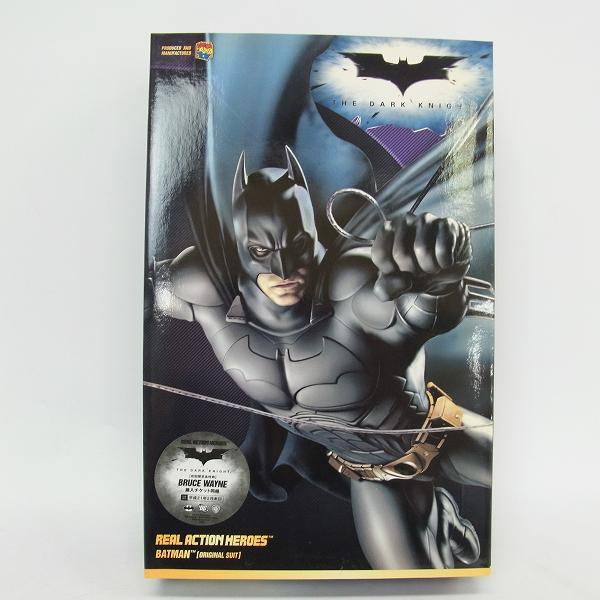 【未開封】メディコムトイ リアルアクションヒーローズ BATMAN THE DARK KNIGHT オリジナルスーツver