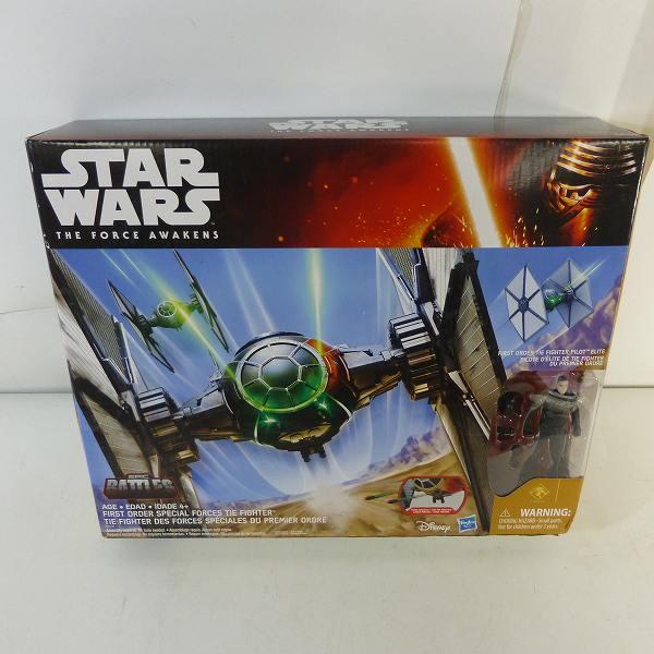 【未使用】Hasbro/ハズブロ トイザらス限定 STAR WARS ファーストオーダー タイ・ファイター(デザート) フォースの覚醒
