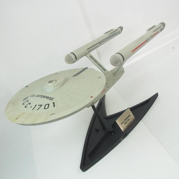 実際に弊社で買取させて頂いたマスターレプリカ スタートレック 1/350 USS エンタープライズ号 NCC-1701 40周年記念モデル 限定1250個